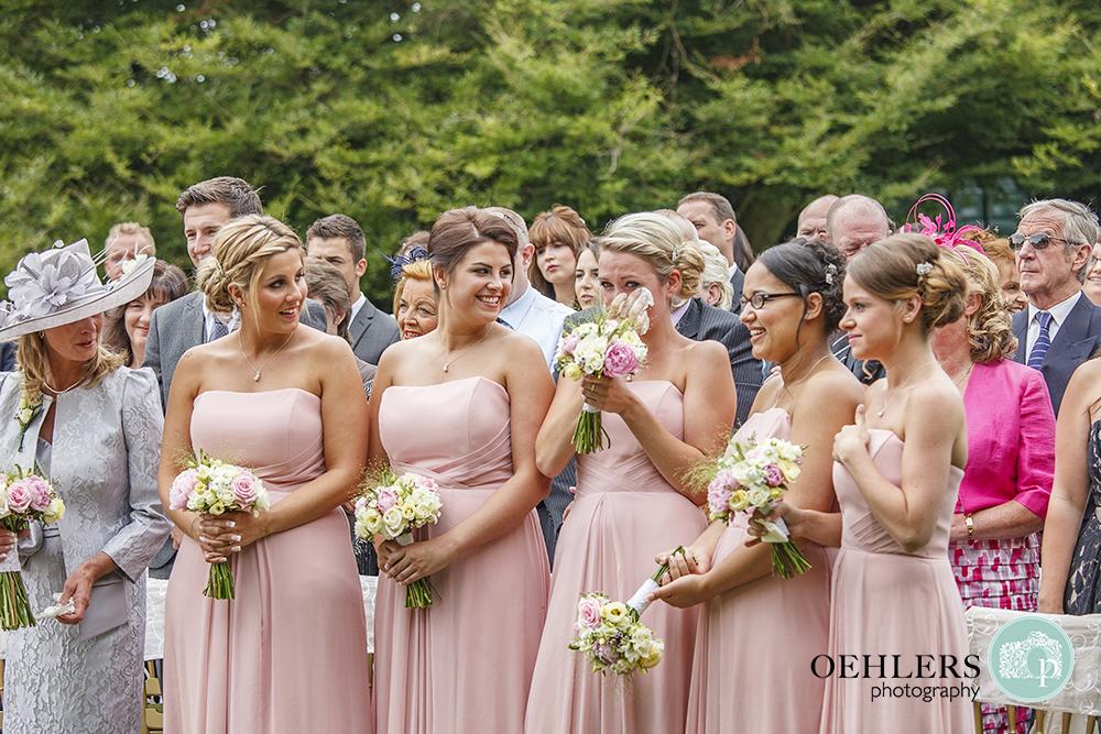 bridesmaids overwhelmed