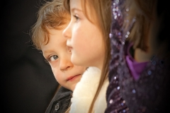 children at the ceremony