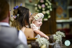 cute baby at the ceremony