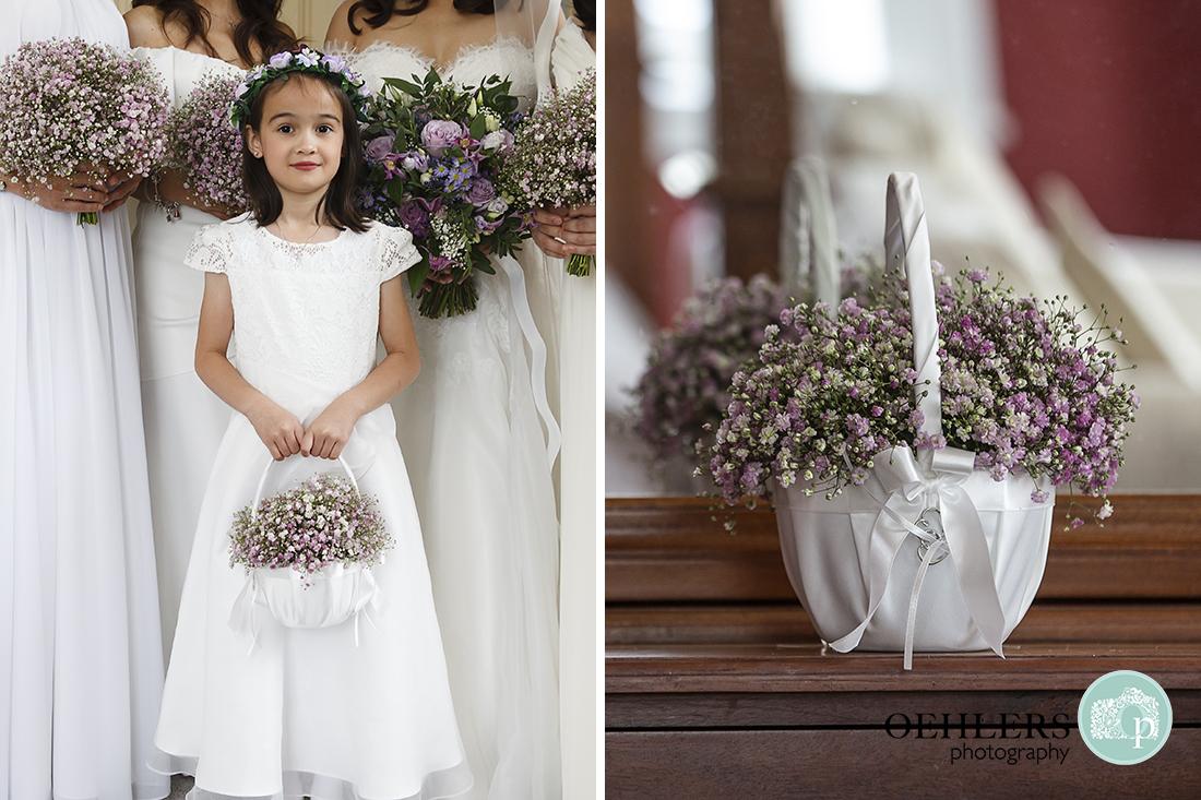 Flower Girl and her basket