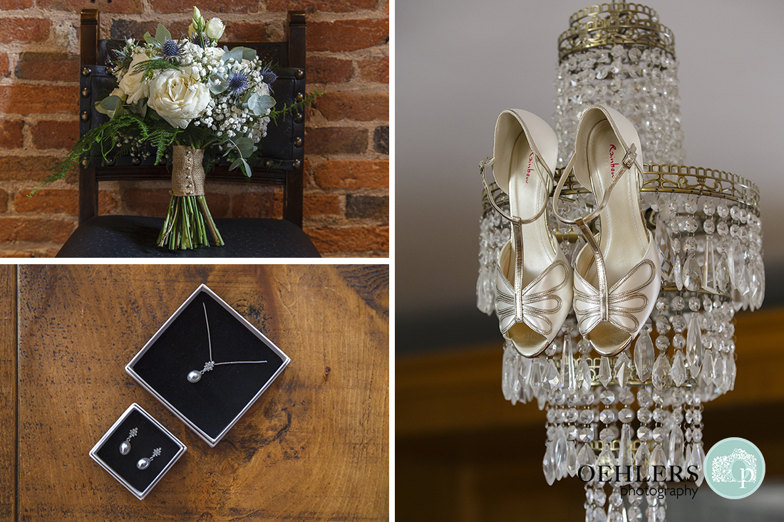 Swancar Farm Wedding Photography-Bridal accessories