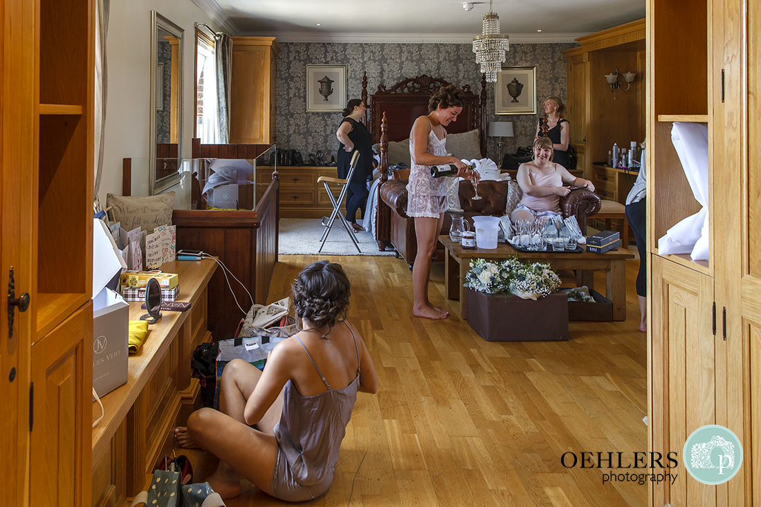 Swancar Farm Wedding Photography-Morning preparations