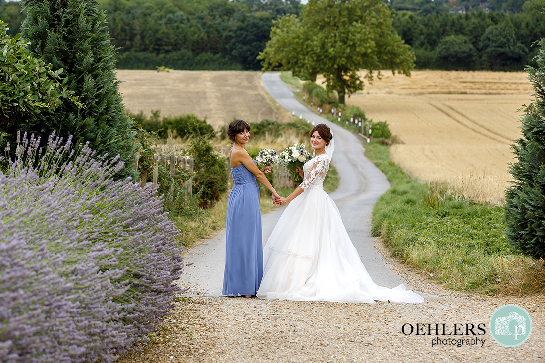 Swancar Farm Wedding Photography-Bride and her sister