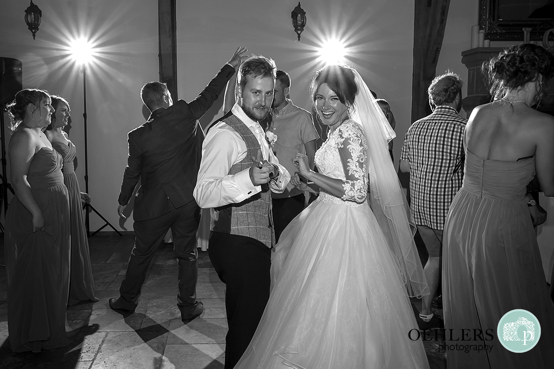 Swancar Farm Wedding Photography-Bride and Groom on the dance floor