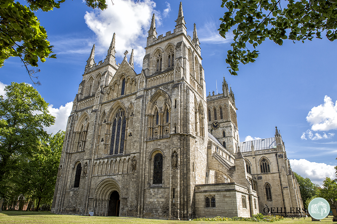 Wedding ceremony venue, Selby Abbey in Yorkshire.