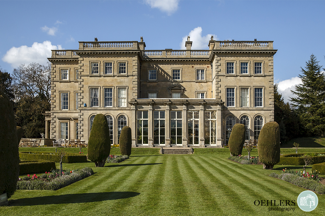 Prestwold Hall Building.