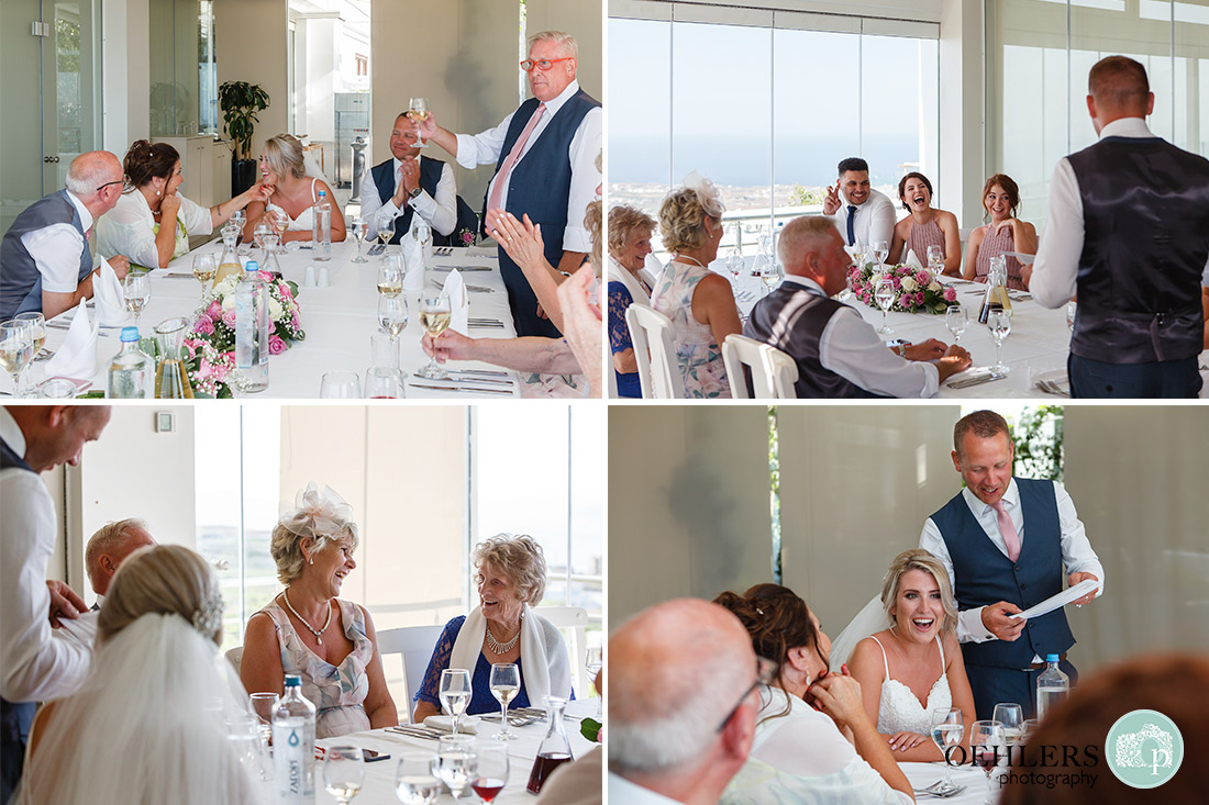 Some more photographs of the guests enjoying the speeches.