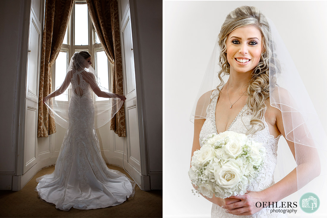 Breautiful photographs of the bride.