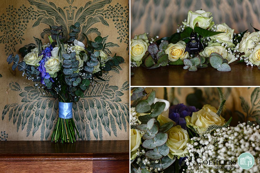 wollaton hall bridal bouquets